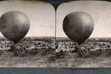Balloon Corps on Ground Soon to Ascend Photographic Print