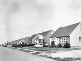 View of Levittown, New York Photographic Print
