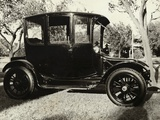 Old Car Parked under Tree Line Photographic Print