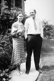 Young Married Couple Together 1939 Photographic Print