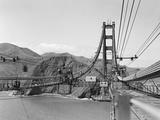 Il ponte sul Golden Gate, pomeriggio d'estate Stampa fotografica