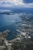 Guantanamo Bay, Cuba Aerial Photographic Print by Fred Ward