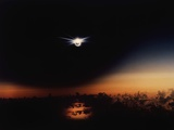 Solar Eclipse Seen from a Plane Photographic Print by Roger Ressmeyer