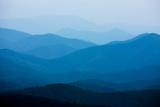 Blue Mountains, Blue Ridge Parkway, Virginia Fotografisk trykk av Paul Souders