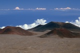 Cinder Cones on Summit of Mauna Kea Photographic Print by Roger Ressmeyer