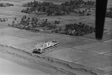 Steamer Beached on Field after Cyclone Photographic Print