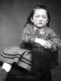 Tintype Portrait of a Child, Ca. 1870 Photographic Print