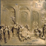 Jacob and Esau from the Gates of Paradise Photographic Print by Lorenzo Ghiberti