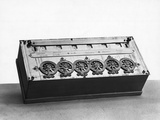 Blaise Pascal Calculating Machine Photographic Print