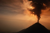 Eruption of the Colima Volcano Photographic Print by Roger Ressmeyer