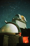 Domes at McDonald Observatory Photographic Print by Roger Ressmeyer