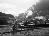 Attack on Pearl Harbor Photographic Print