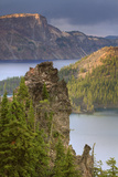 Crater Lake Landscape Design, Oregon Photographic Print by Vincent James