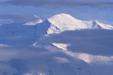 Summit of Mt. Mckinley in Summer Photographic Print by Paul Souders