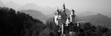 Castle on a Hill, Neuschwanstein Castle, Bavaria, Germany Fotografisk trykk