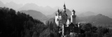 Castle on a Hill, Neuschwanstein Castle, Bavaria, Germany Photographic Print