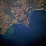 Lisbon and Tagus River Estuary Photographic Print
