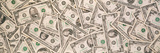 Close-Up of a Pile of Us Dollar Bills Photographic Print