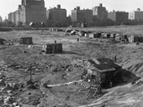 Hooverville in Central Park 1933 Photographic Print