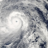 Super Typhoon Haiyan Approaching the Phillipines Photographic Print