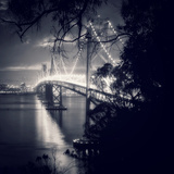 Bay Bridge, All Dressed Up, San Francisco Photographic Print by Vincent James