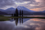 Stormy Reflection at Sparks Lake Photographic Print by Vincent James