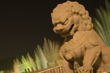 Stone Lion at the Gate of Heavenly Peace Photographic Print by Paul Souders
