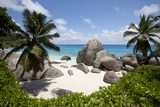 Tropical Beach, Seychelles Stampa fotografica di Paul Souders
