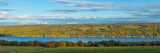 Lake Surrounded by Hills, Keuka Lake, Finger Lakes, New York State, USA Photographic Print