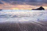 Sunbreak Seascape, Big Sur Photographic Print by Vincent James
