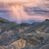 Sunset Storm Design, Death Valley (Square) Photographic Print by Vincent James