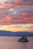 Fiery Sunset at Mono Lake, Sierra Nevada Photographic Print by Vincent James
