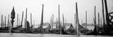 Gondolas Moored at a Harbor, San Marco Giardinetti, Venice, Italy Photographic Print
