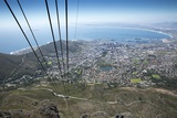 Cable Car, Table Mountain National Park, Cape Town, South Africa Photographic Print by Paul Souders