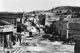Helena, Montana, in 1865 Photographic Print