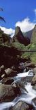 Stream Flowing Through a Valley, Iao Needle, Iao Valley, Wailuku, Maui, Hawaii, USA Photographic Print