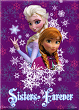 Frozen - Anna and Elsa Sisters Forever Magnet Magnet