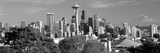 City Viewed from Queen Anne Hill, Space Needle, Seattle, King County, Washington State, USA 2010 Fotodruck