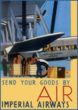 Send Your Goods by Air Kunstdrucke