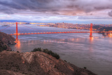 Storm Coming In Over Golden Gate Bridge Photographic Print by Vincent James