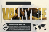 Valkyrie World Mythology Poster Prints by Christopher Rice