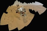 Curiosity Rover Self-Portrait, Gale Crater, Mars Photographic Print