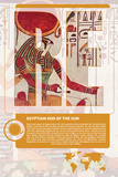 Re World Mythology Poster Pósters por Christopher Rice