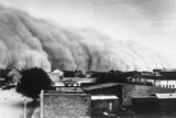A Dust Storms Hit Southwest Bread Basket Photographic Print