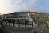 Pompeii and Vesuvius Photographic Print by Roger Ressmeyer