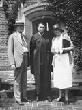 Graduation Snapshot at University of Illinois, Ca. 1935 Fotografisk trykk