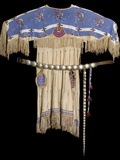 Lakota Beaded Dress Photographic Print