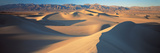 Sunset Mesquite Flat Dunes Death Valley National Park Ca USA Photographic Print