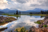 Painterly Scene at Spark's Lake, Bend Oregon Photographic Print by Vincent James
