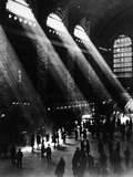 Sunlight Through the Windows at Grand Central Station Photographic Print
